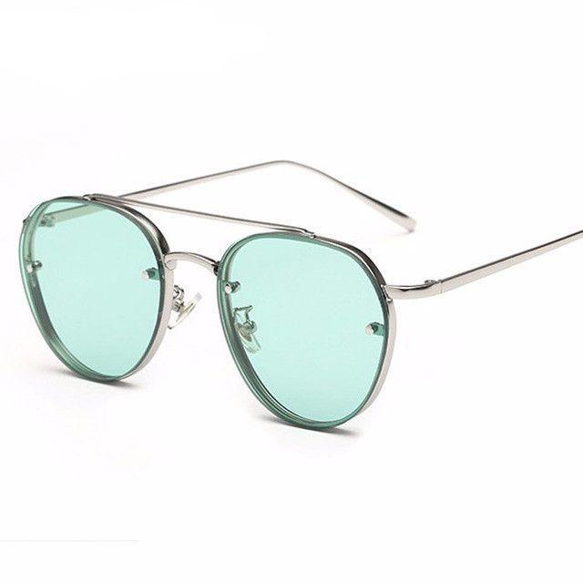 Women's Over-sized Aviator Sunglasses