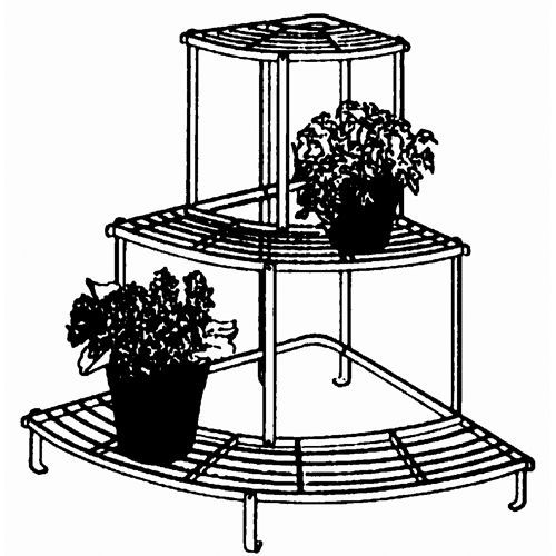 Outdoor or indoor plant stands.  These antique french reproductions create the p...#antique #create #french #indoor #outdoor #plant #reproductions #stands