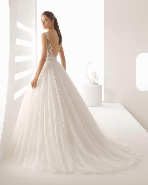 alejo - novia 2018. colección rosa clará | bodas y algo mas