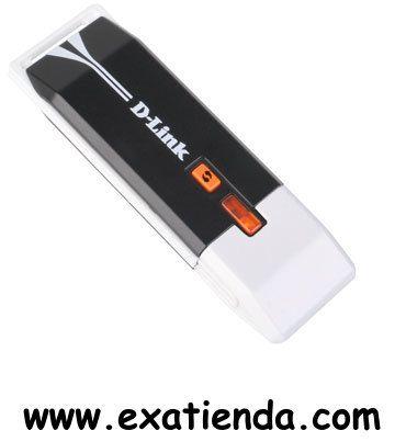 Ya disponible Wireless Dlink dwa 140 USB 802.11n    (por sólo 24.71 € IVA incluído):   -Especificación para LAN inalámbrica draft 802.11n, compatible con los dispositivos 802.11b/g. -Banda de frecuencia: 2,4 GHz. -Conexión: Fast USB 2.0 para ordenador de sobremesa o notebook. -Tasa de transferencia de datos bruta: 300 Mbps. -Potente seguridad de encriptación de datos: WPA/WPA2. -Dos antenas internas integradas. -Gestor inalámbrico de D-Link para el fácil acceso a la