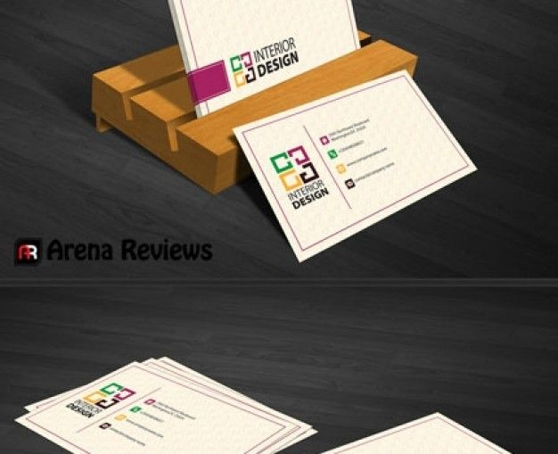 Download Interior Decoration Business Card Template For Free