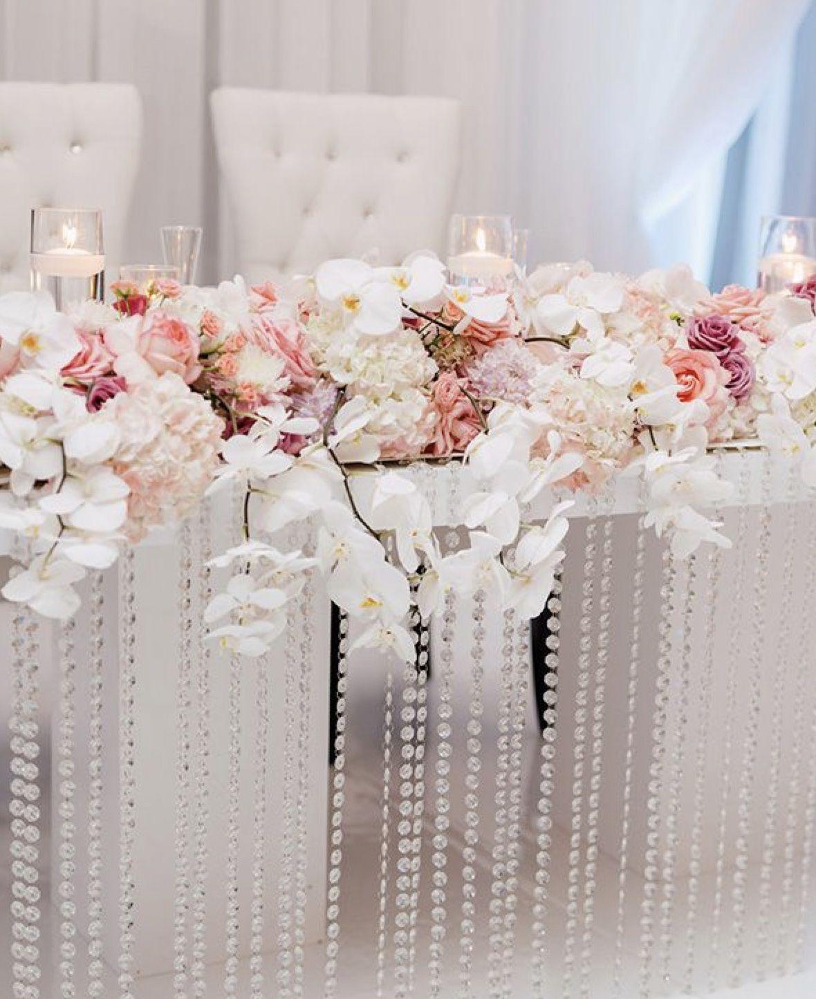 Wedding Reception Head Table Ideas: Wedding Reception Decorations