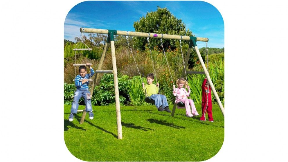 Plum Gibbon Swing Set   Swing Sets U0026 Slides   Wheeled U0026 Outdoor Activities    Toys, Kids U0026 Baby | Harvey Norman Australia