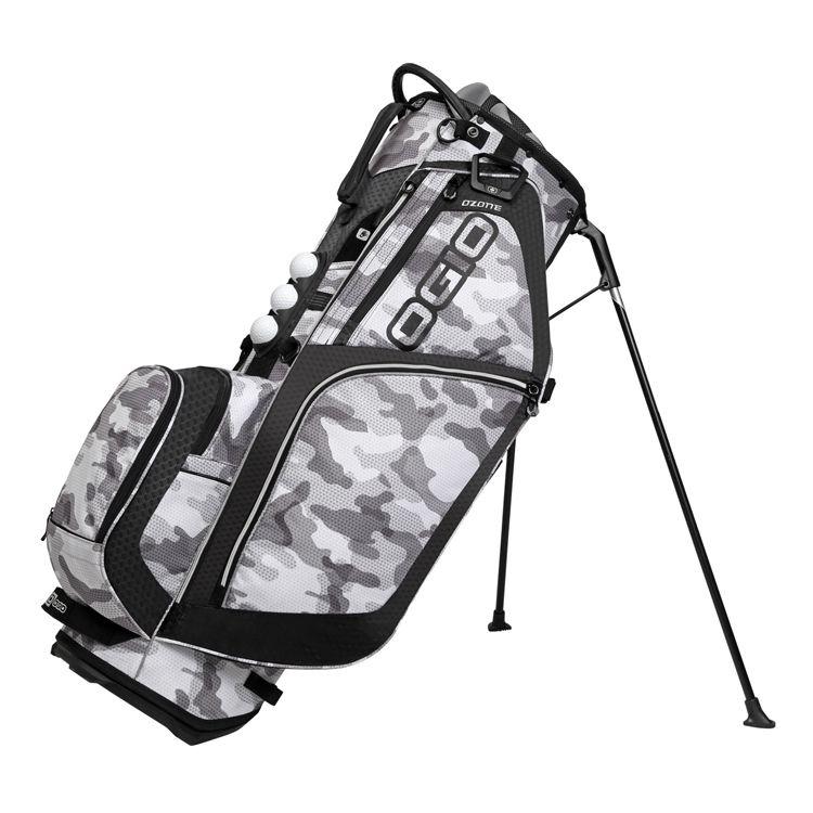 Ogio Ozone Golf Bag Camo Black With