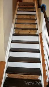Image result for wood tile on stairs