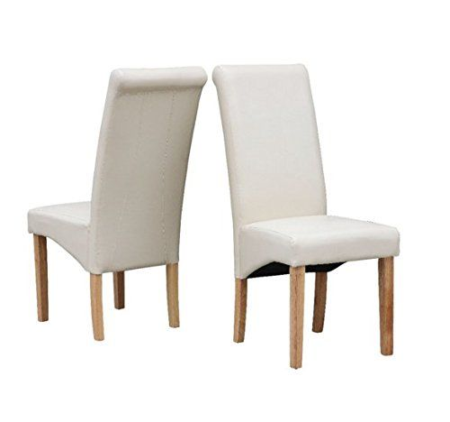 Wondrous Yopih Furniture Set Of 2 Premium Faux Leather Dining Chairs Pabps2019 Chair Design Images Pabps2019Com