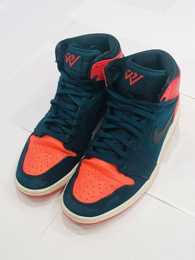 online store 5d3c2 64469 Nike Air Jordan 1 Retro Westbrook Teal Infrared 23 332550-312 Sz 11   fashion  clothing  shoes  accessories  mensshoes  athleticshoes (ebay link)