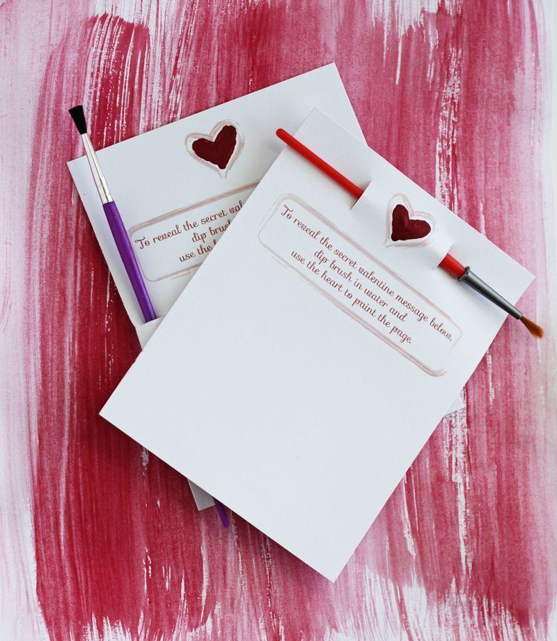 Secret Message Valentine Mini Edition – Valentine Cards with Messages