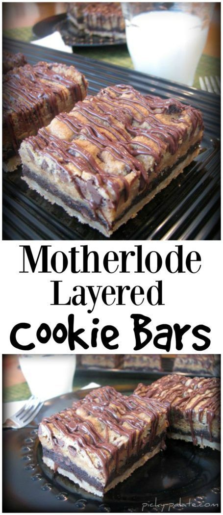 The Motherload Layered Cookie Bars The Motherload Layered Cookie Bars -