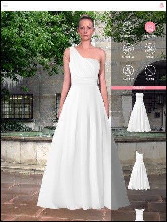 Design Your Own Wedding Dress Virtual