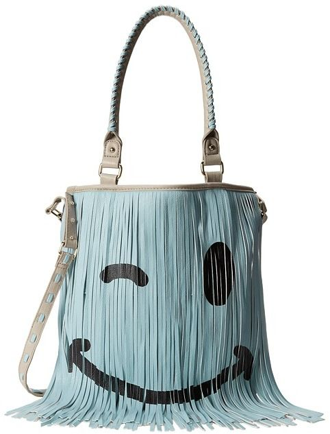 Steve Madden Fringer Satchel on shopstyle.com. Who doesn t love a smiley  face winking at them in fringe  0e27e383a9c01