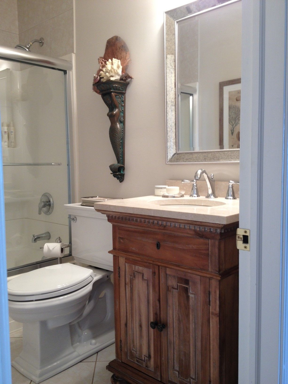 benjamin moore pale oak paint updated powder room on benjamin moore paint by room id=33207