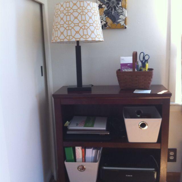 Bookshelf Desk Office Storing Supplies Mail Laptops And