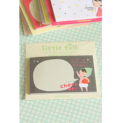 Little Talk Sticky Notes - Cheer Up