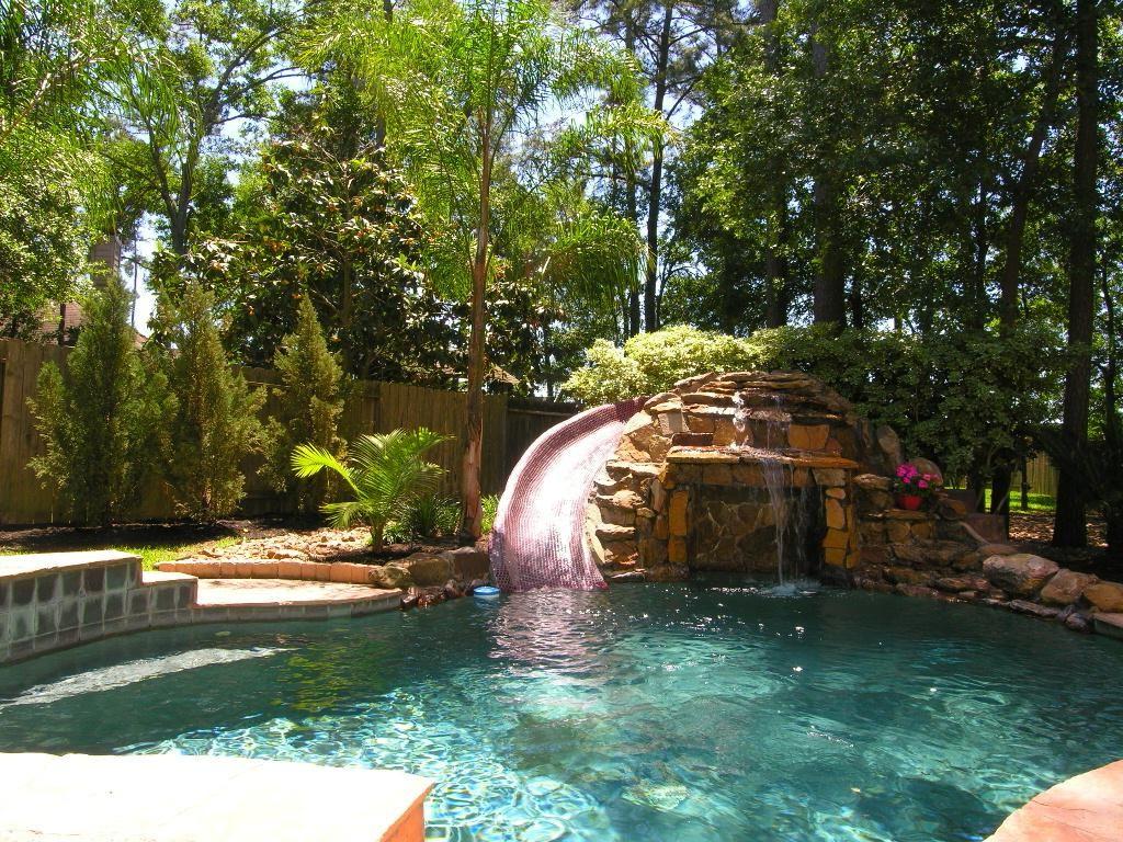 25 Great Backyard Pool Designs Ideas To Add Charm To Your Home Interiorsherpa Backyard Pool Pool Waterfall Swimming Pools Backyard