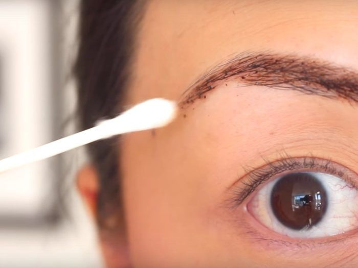 How to naturally dye your eyebrows with coffee, coco, coconut oil ...