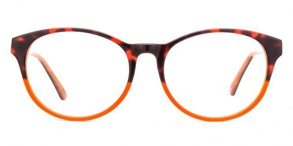 e4b6d85e7f8 Wilbur Tortoise   Orange - Womens Prescription Glasses