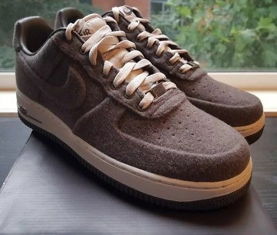 NEW Nike Air Force 1 Low VT Premium SIZE 10 DS Wool Midnight Fog 472500-002