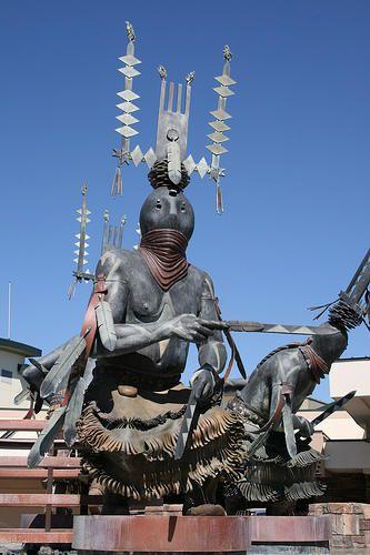 Apache Crown Dancer Native American Pride Mescalero Indian New Mexico