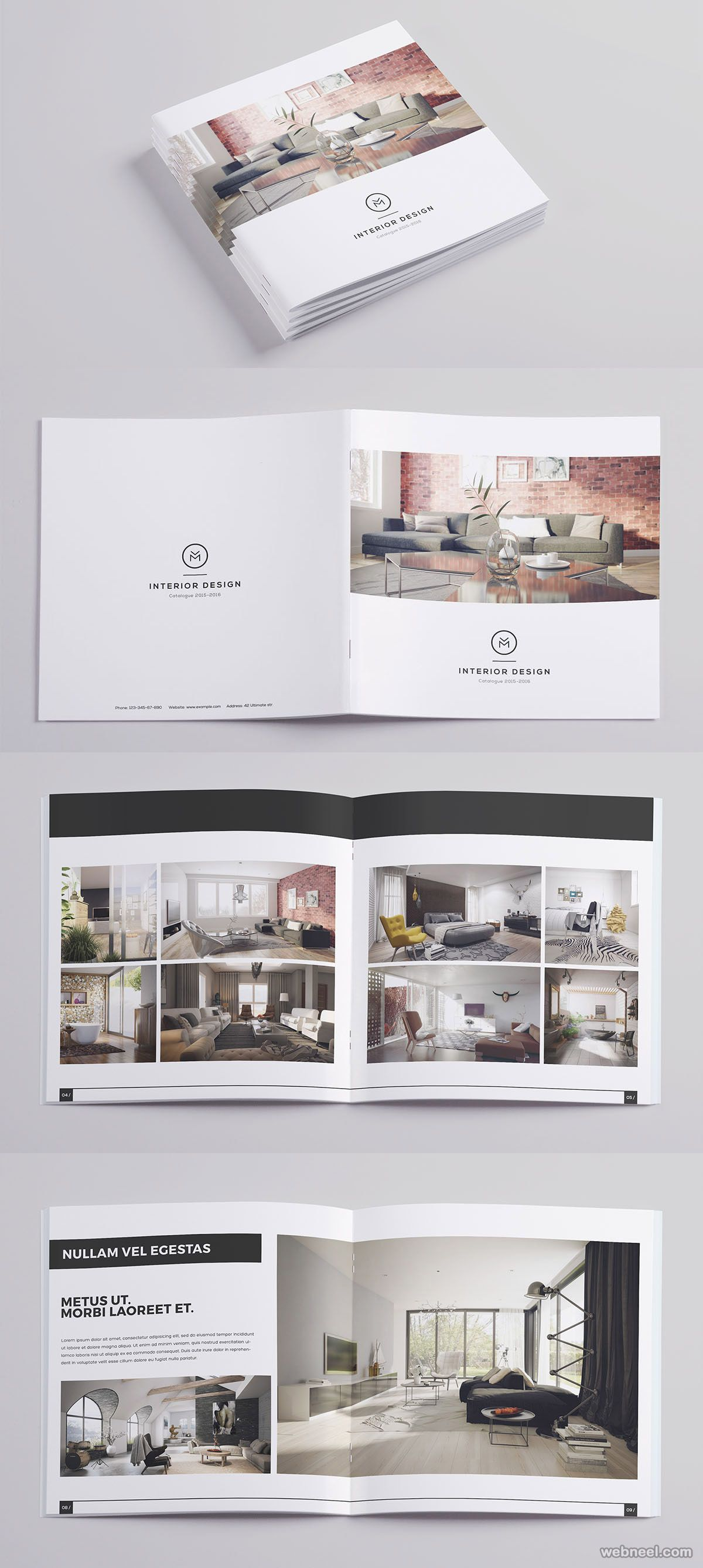 26 Best And Creative Brochure Design Ideas For Your Inspiration Read Full Article Http Webn Brochure Design Creative Catalog Design Layout Brochure Design