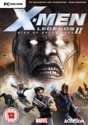 X Men Legends Ii Rise Of Apocalypse Apocalypse Games X Men Apocalypse
