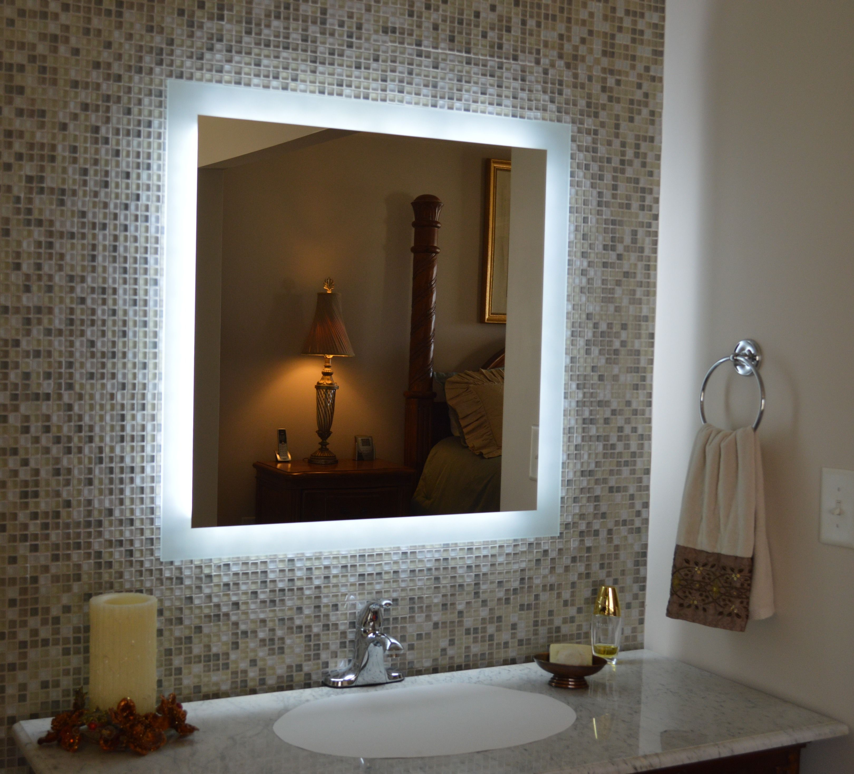 Our MAM93030 Side Lighted LED Vanity Mirror 30\
