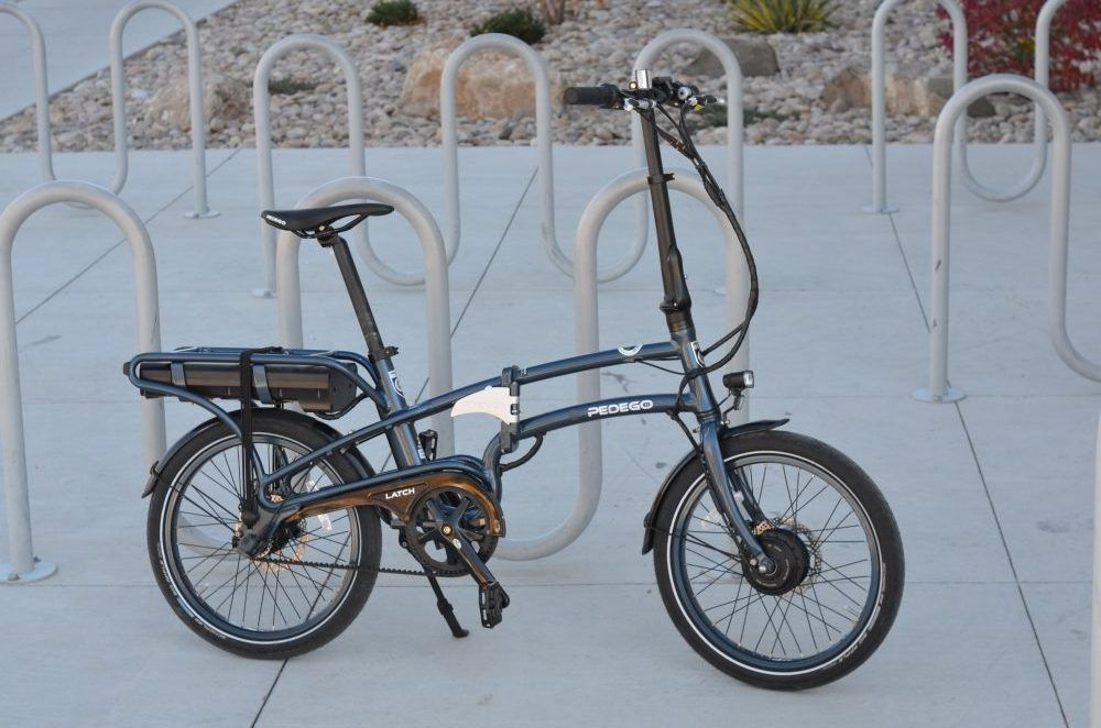 Pedego Latch Review The Traveler S Safeguard Folding Electric Bike Electric Beach Electric Bicycle