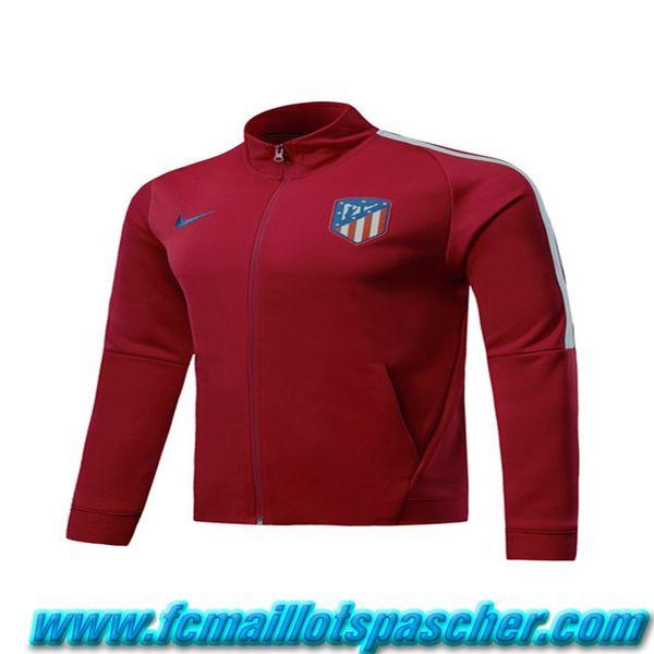 dernier Ensemble de survetement Nike Veste Atletico Madrid