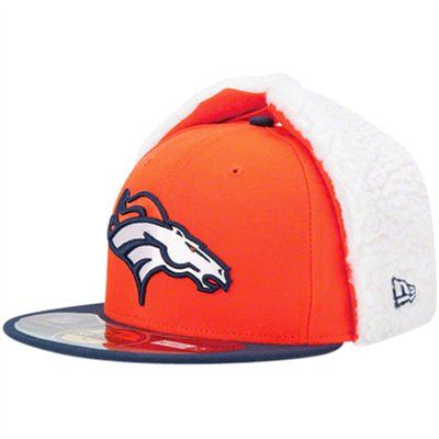 f4b7a572d New Era Denver Broncos On-Field Dog Ear 59FIFTY Fitted Hat - Orange ...