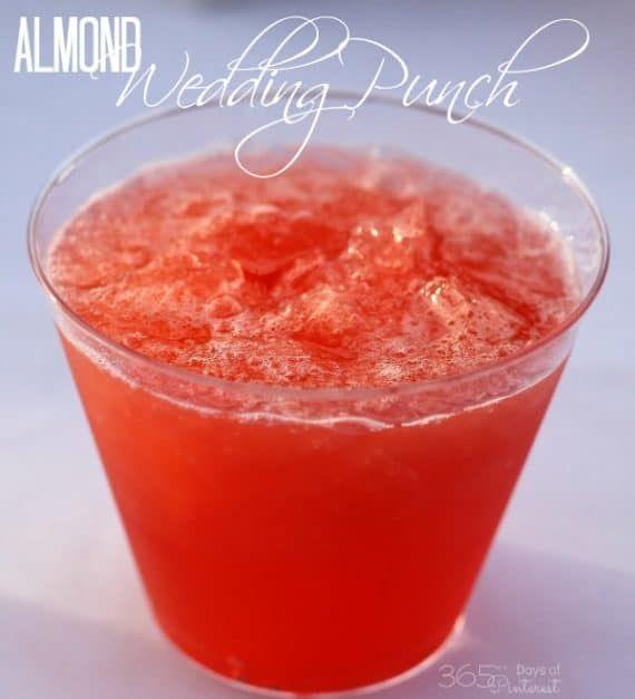 Wedding Punch Ideas: Almond Wedding Punch - Simple And Seasonal