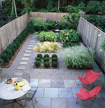 Small Modern Garden Design Photograph
