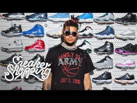 ca52e3ba15431 Smokepurpp goes Sneaker Shopping with Complex s Joe La Puma at Stadium  Goods in New York City and talks about wearing Yeezys in high school
