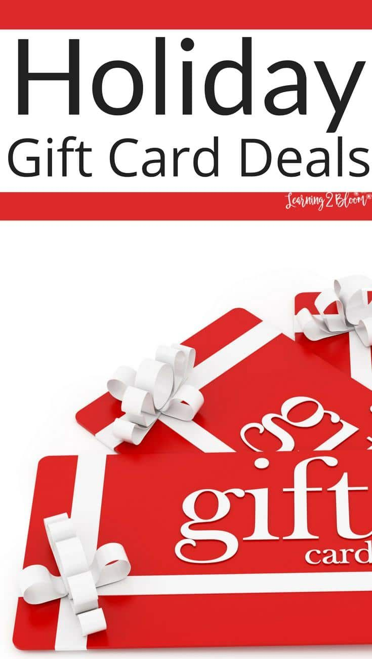 Check out the best black friday gift card deals gift