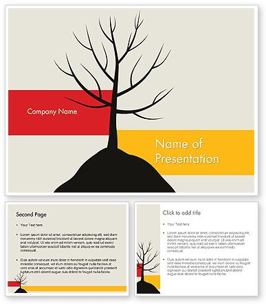 wwwpoweredtemplate 11786 0 indexhtml Deciduous Tree - winter powerpoint template