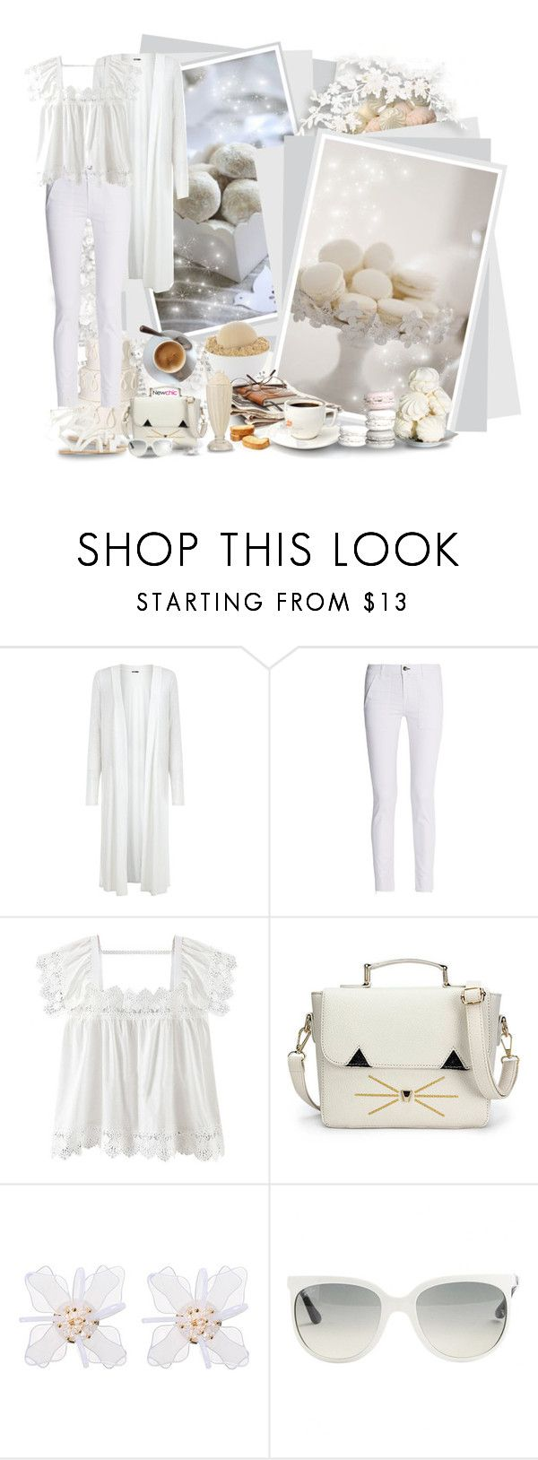 """Newchic"" by asia-12 ❤ liked on Polyvore featuring rag & bone, Ray-Ban and newchic"