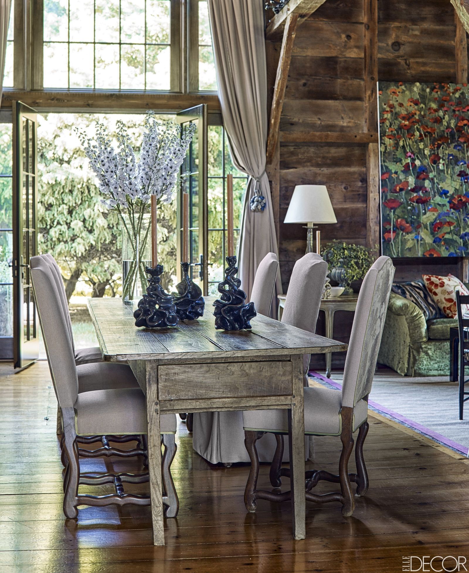 Casual Dining Room Decor Ideas: These Rustic Dining Rooms Are The Definition Of Country