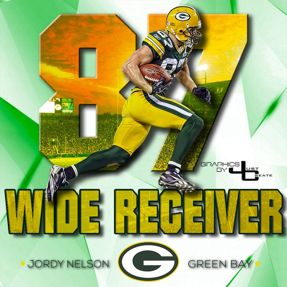 Jordy Nelson  graphics by justcreate Sports Edits