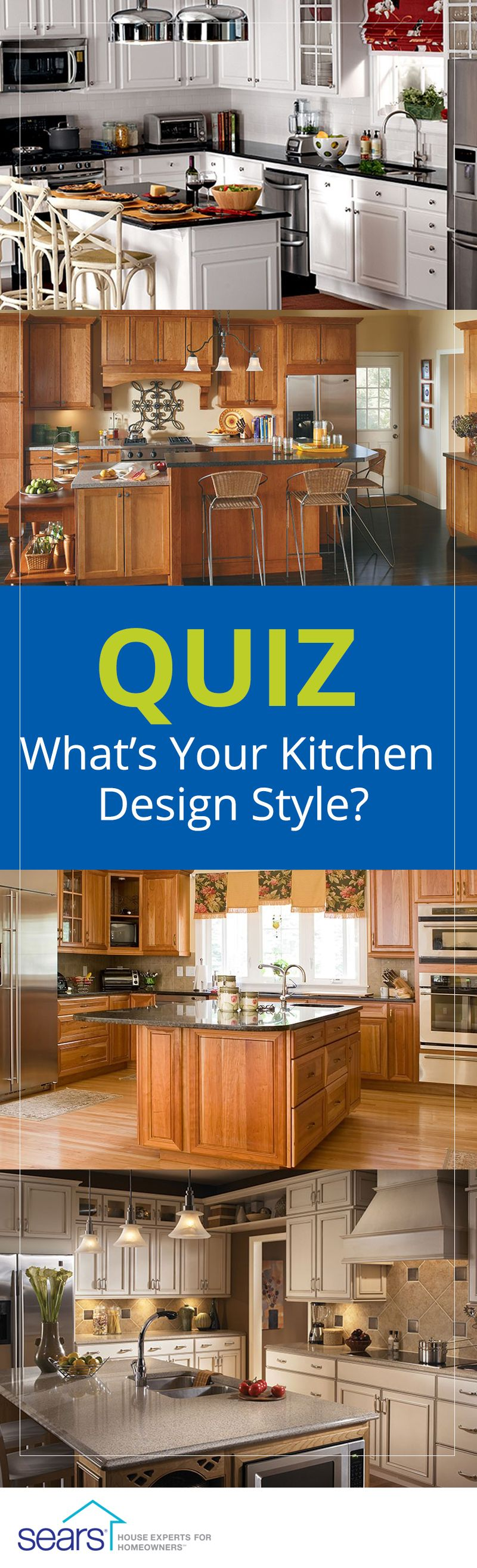 quiz: what's your kitchen design style? are you traditional