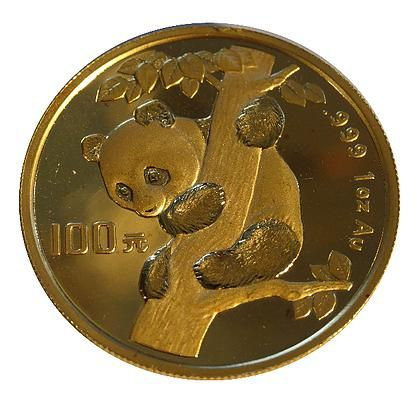 1996 1 Ounce Chinese Panda Gold Coin Large Date Art In Coins