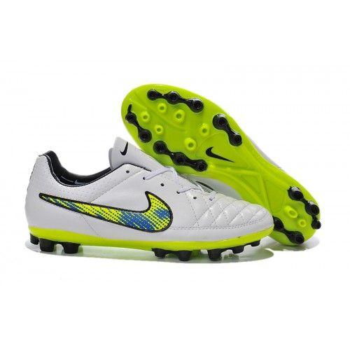 cheap for discount b3a74 56c1e Nike Tiempo - Nike Tiempo Legend AG - Blanco Verde
