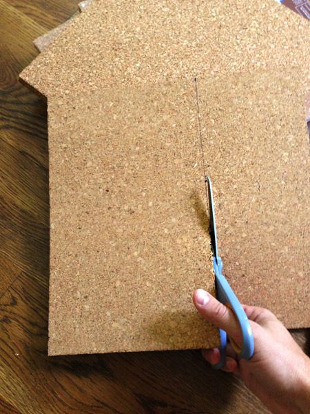 How To Make A Giant Cork Board Wall For Kid Art | Cork boards ...