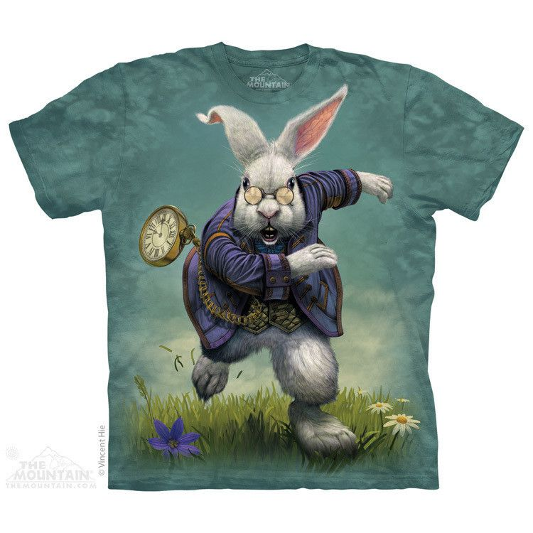 White Rabbit TShirt Fairy tail t shirt, White rabbit