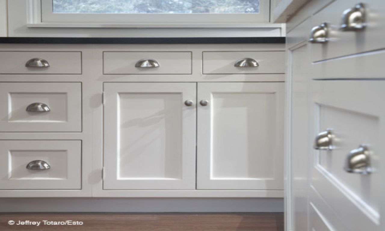 Drawer Cup Pulls | images of white kitchen cabinets with pulls and ...