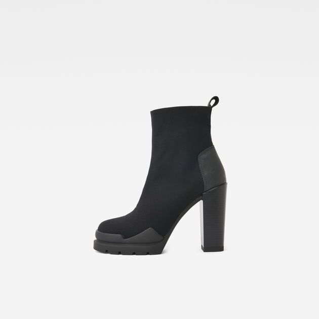 G Star Rackam Heel Boot dark blue | dress for less outlet