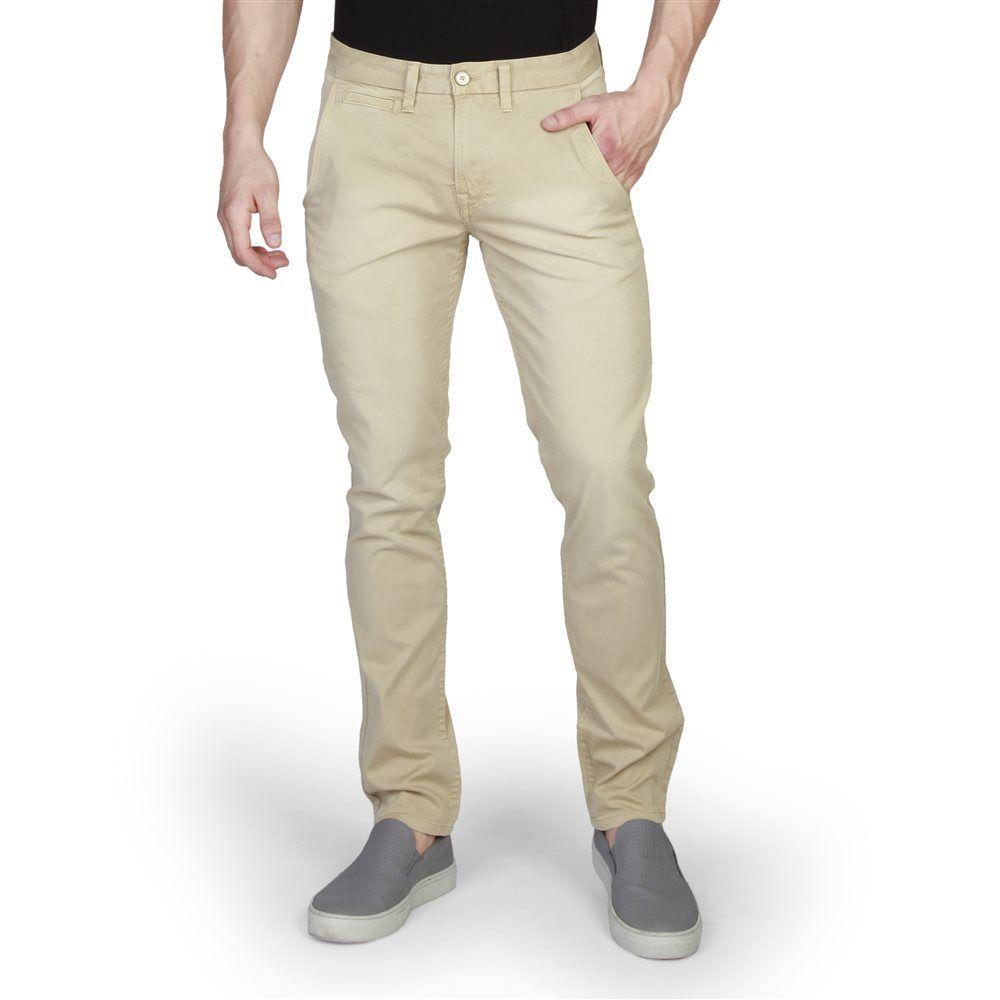 Pantalones Slim De Hombre Timberland En Color Marron Claro Modelo A156e Length 32 Pantalones Para Hombre Pantalones Pantalones De Chandal