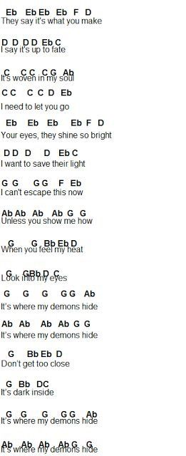 Demons Part 4 Clarinet Music Flute Sheet Music Violin Music