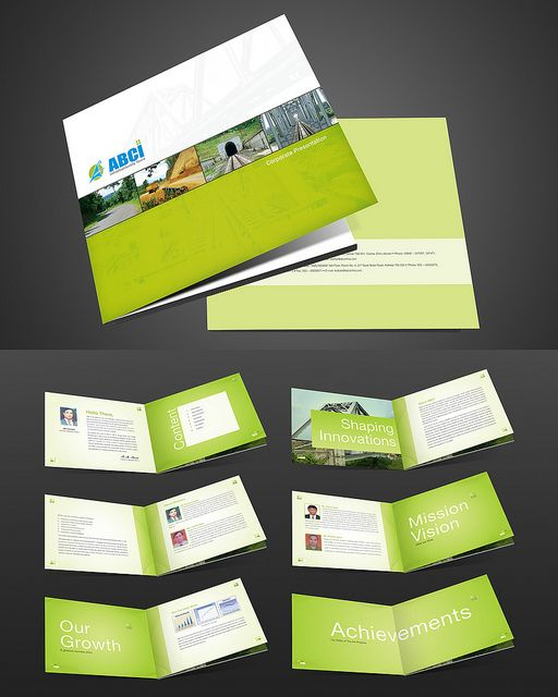 simple brochure templates