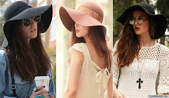 The floppy hat always reminds me of the 1960s.....Love it