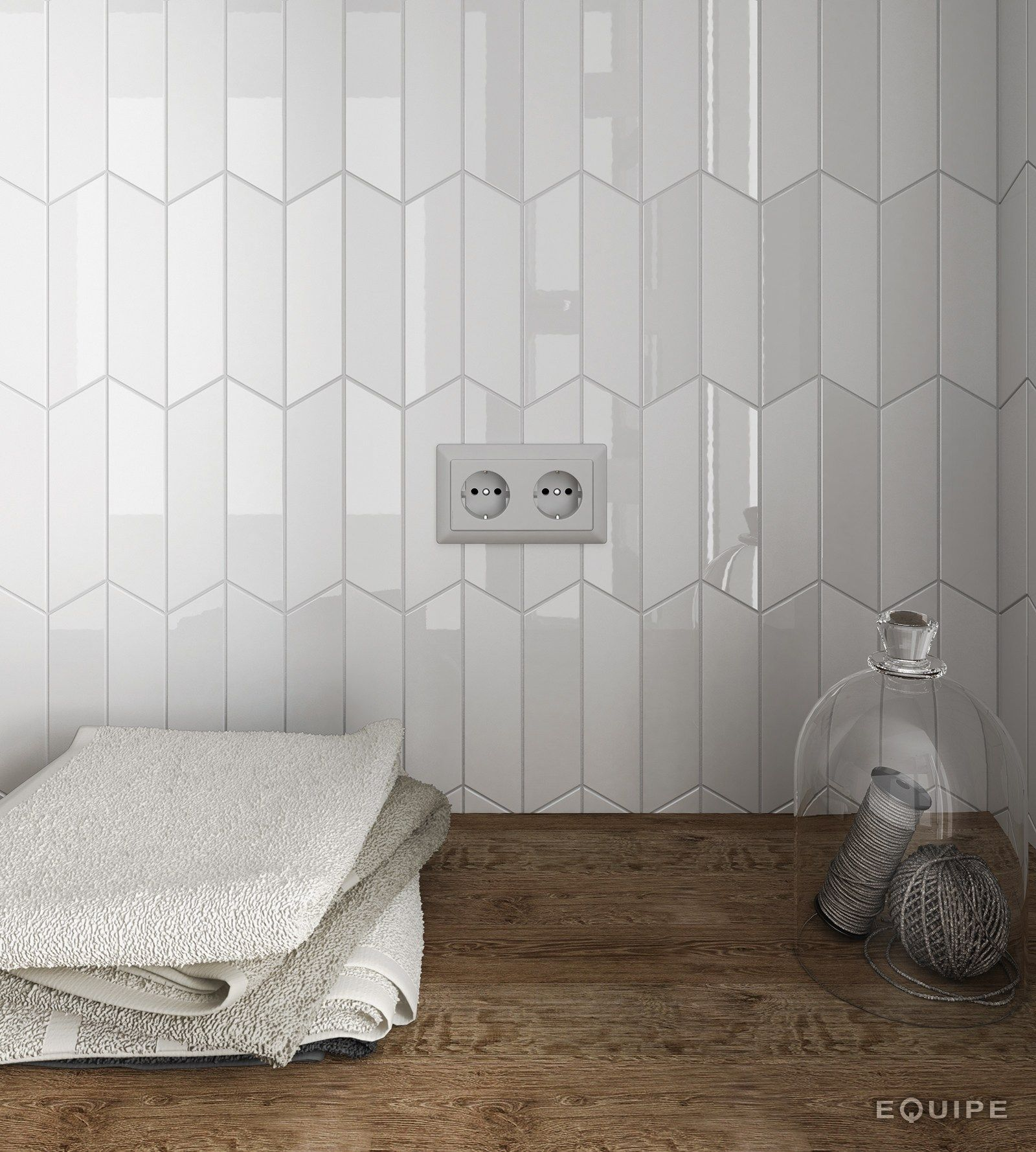 Chevron Wall Wall Tiles By Equipe Ceramicas Room Wall Tiles Bathroom Wall Tile Kitchen Wall Tiles Modern