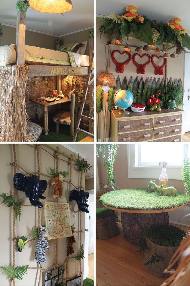 Kids Bedroom Jungle Theme hammers and high heels: head over heels friday: bachman's 2012